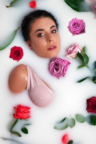 Meditación de la rosa